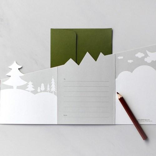 디비디 크리스마스 카드 - Petit Bear