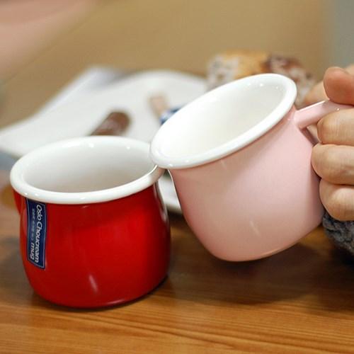 슬로우 카페 도자기머그컵 250ml (단지형) 알럽하우스