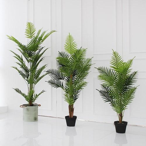 아레카 야자수 조화 나무(120cm)