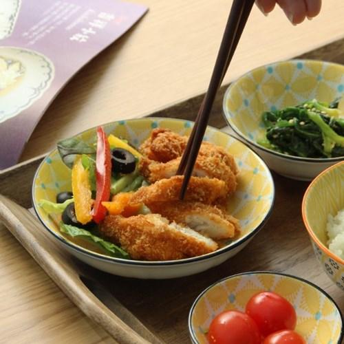 히츠키코보 혼밥세트 1인 한식기 그릇세트 6P-하나