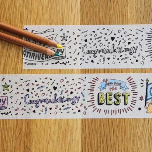 MASTE Masking Tape for Coloring-MST-ZC01-D