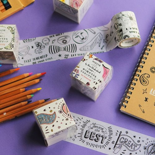 MASTE Masking Tape for Coloring-MST-ZC01-B