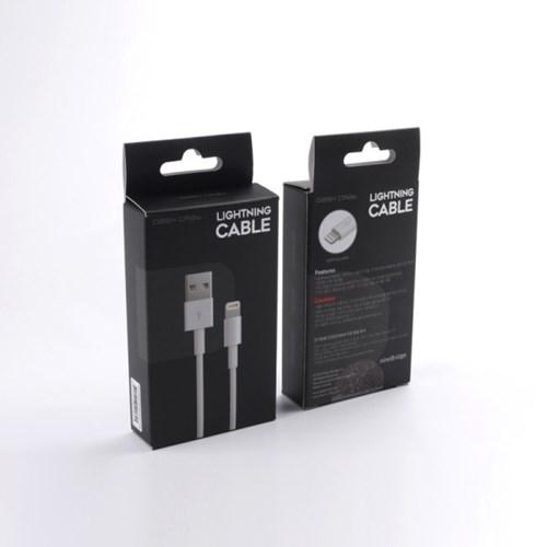 대쉬크랩 아이폰용 라이트닝 8핀 케이블-화이트