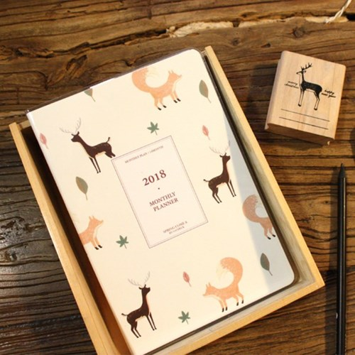 2018 MONTHLY PLANNER