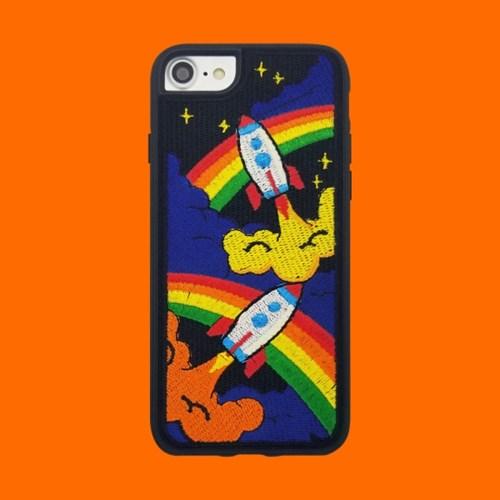 [위글위글] 자수케이스 Embroidery Case(아이폰)