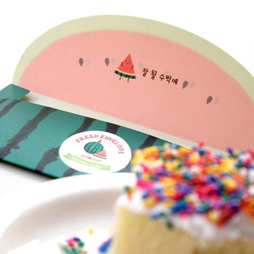 수박 과일 봉투 / 015-ME-0002