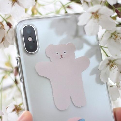 CBB SC Bear hug_jelly case