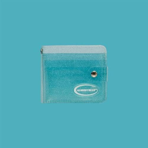 TWINKLE JELLY WALLET (얼모스트블루 지갑)
