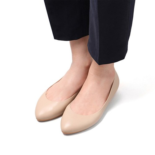 [F3] Flat3 - Pointed Nude Beige (F3-P-NB-)