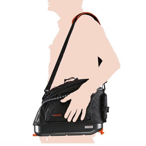 대용량 자전거 여행 확장형 짐받이 가방 원터치 탈부착 방식 23리터