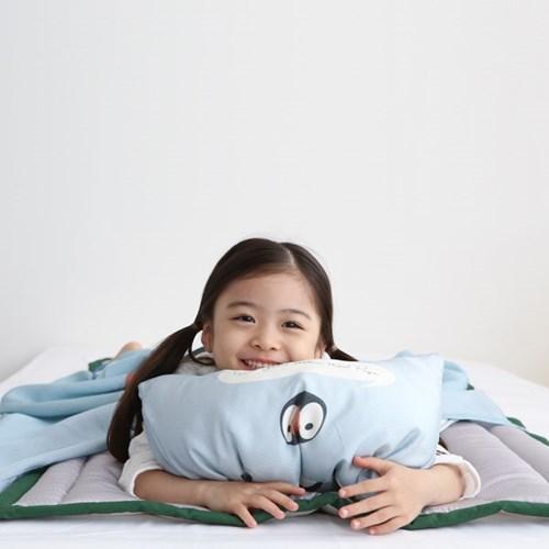 보니멀즈 풍기인견 여름 낮잠이불 이불베개세트(솜포함)