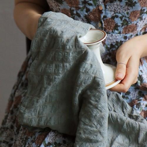 Fabric Letter _ Delphine (khaki)