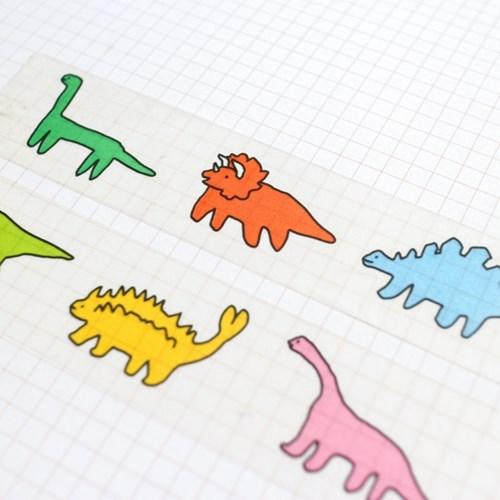 하찮은 공룡 마스킹테이프