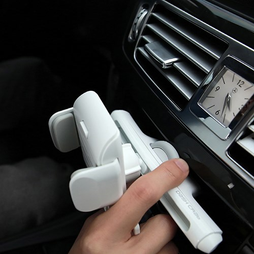 대쉬크랩 룰렛 터치 차량용 핸드폰 CD 거치대