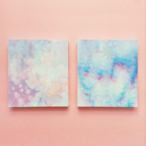 [에코드소울] Lilac Rain Card Pad