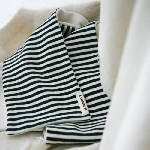 BASIC STRIPE STOLE (ivory)