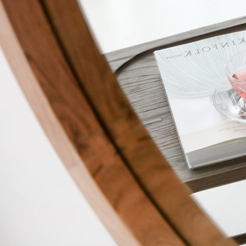 마켓비 PECRE 빈티지 원형거울 65cm PC0116MR