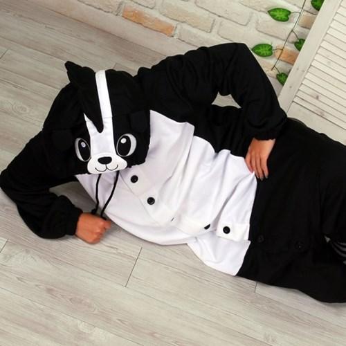 사계절 동물잠옷 스컹크 (블랙)