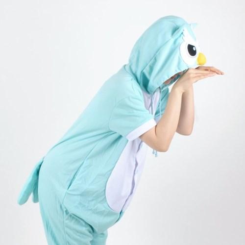 반팔 동물잠옷 부엉이 (민트)