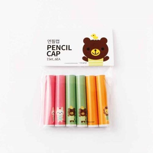 [기성]연필캡 애니멀