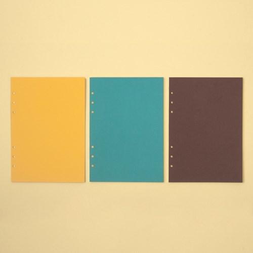 루카랩 6공다이어리 A5 리필 컬러 노트 Vol.2