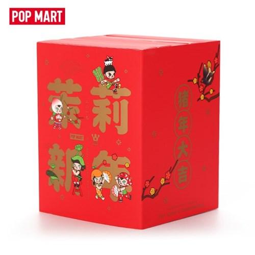 [팝마트코리아 정품 판매처] 몰리-신년 뱃지세트