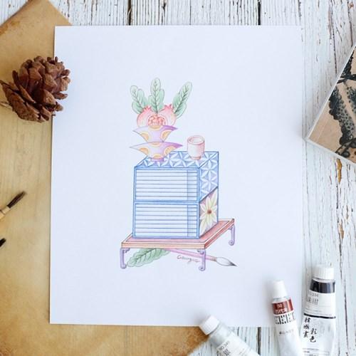 [텐텐클래스] (대치) 쉽게 색연필로 그리는 민화(4회)