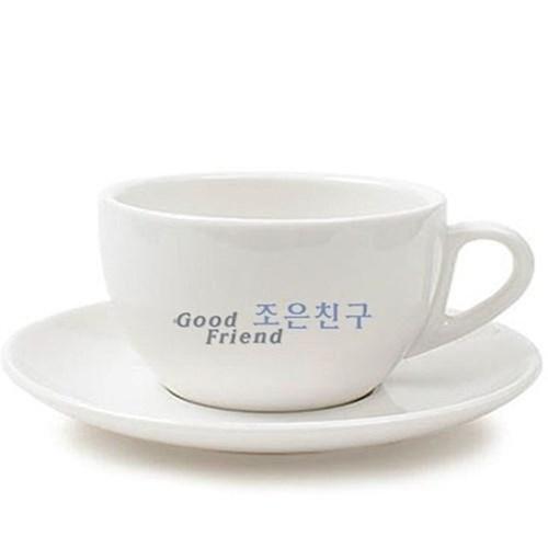 도자기 라떼 화이트 커피잔 커피컵 머그컵 머그잔
