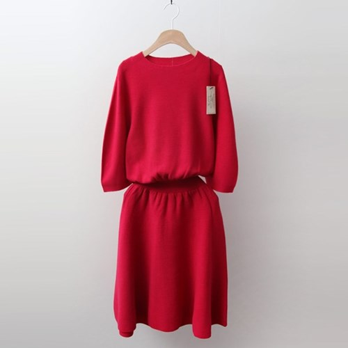Hoega Wool Fit N Flare Dress