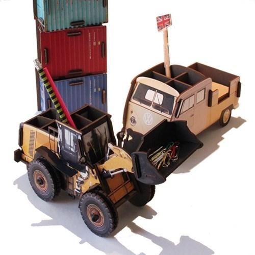 Pencil Box - Wheel Loader 굴착기