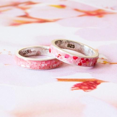 [텐텐클래스] (합정) 벚꽃반지 자개 반지만들기