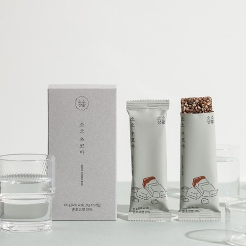 [소소생활] 소소 초코바 (5개입)