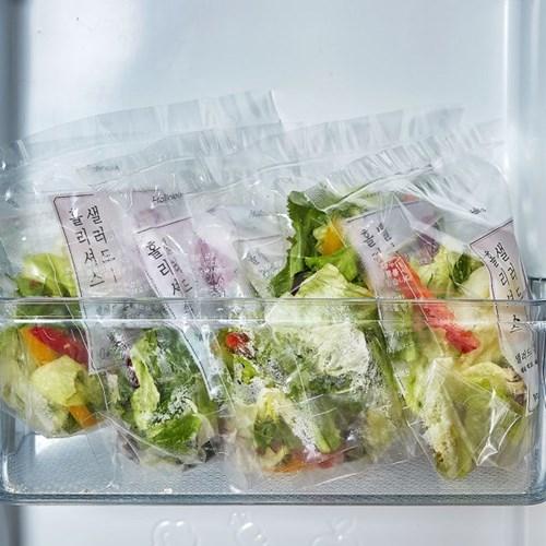 홀리셔스 몸매관리 파우치 샐러드 20팩 정기배송(4주식단)