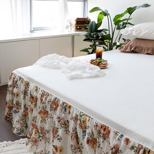 엘리자벳아이보리 3size 매트리스스커트 침대스커트