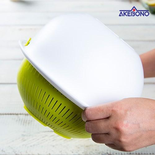 [일본직수입] 아케보노 다용도(쌀세척) 세척용기