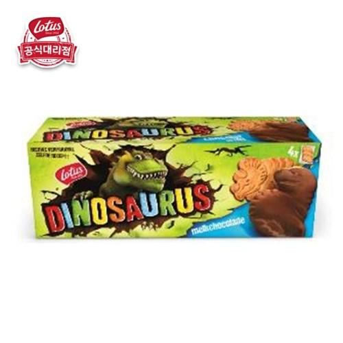 로투스 디노 공룡과자 4종세트 오리지널+미니(시리얼, 밀크초코)