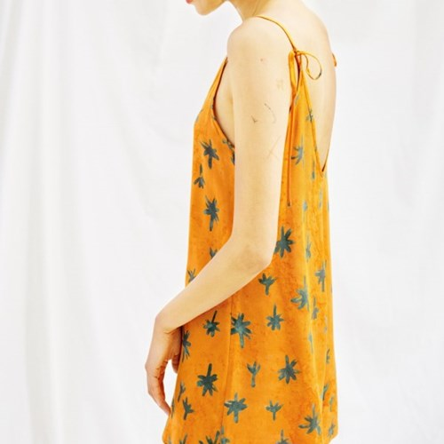 [Slip Jumpsuit] Palmtree - Amber
