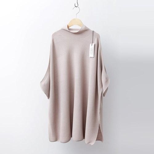 Hoega Linen Poncho Knit Dress