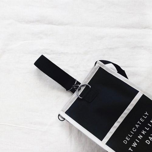 코니테일 슬링 파우치 - 아이보리 (기저귀파우치 유모차정리함 가방)