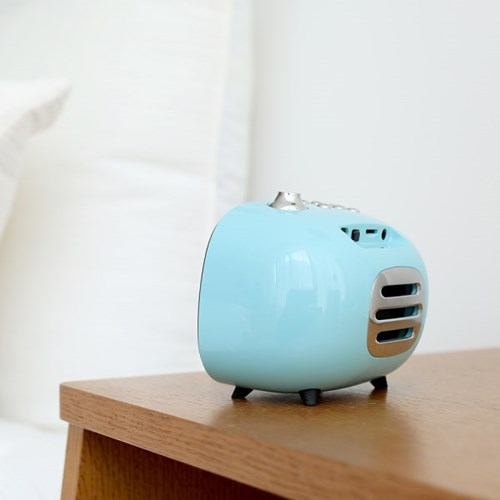 [무아스] 텔리 라디오 알람시계 블루투스 스피커