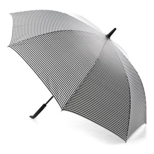 플라우나 심플손잡이 체크 자동장우산 2컬러