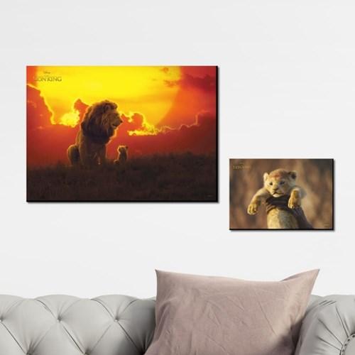 디즈니 인테리어 그림 액자 -라이온킹 라이브액션