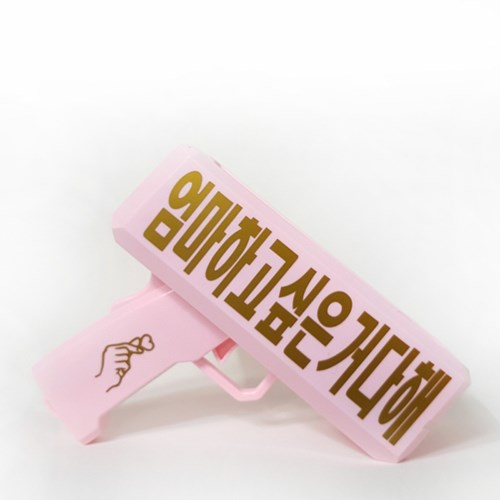 메세지 머니건(문구 주문) 돈 쏘는 총 용돈박스 생일 파티 선물