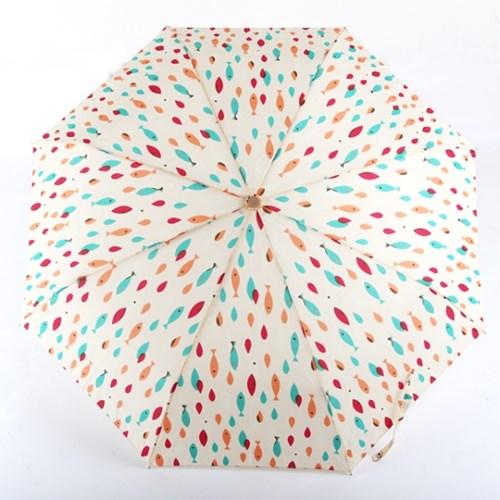 [더로라]기라로쉬 완자 3단 우산 - 피쉬팝 E911