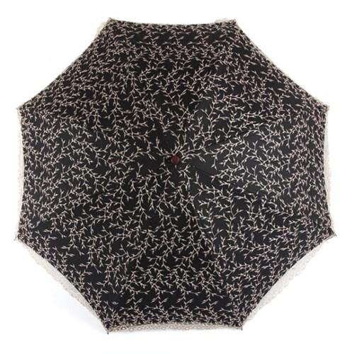 [더로라]고급양산 - 싸리꽃 자수양산 E906