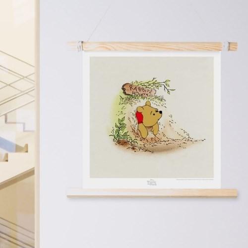 디즈니 인테리어 포스터 - 라이온킹 위니더푸 10종