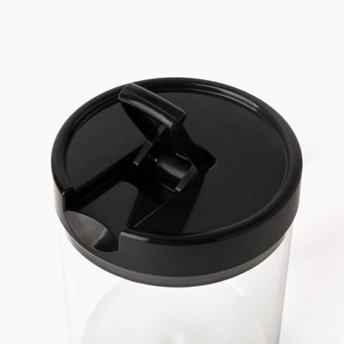 [하리오] 캐니스터 슬림 S 블랙