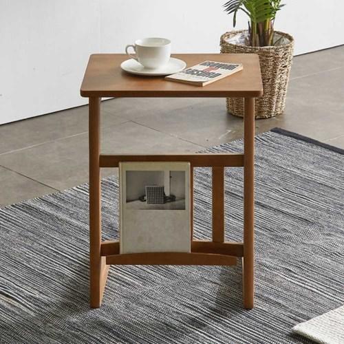 리치 원목 사이드 소파 테이블 Small
