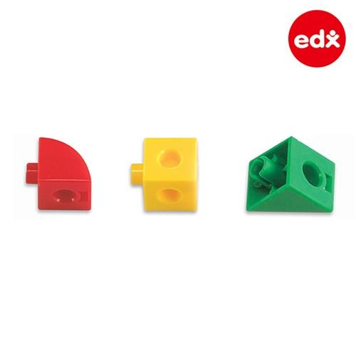 [EDX] 창의수학 링크멀티 큐브블록 종합세트 500PCS (12134C)