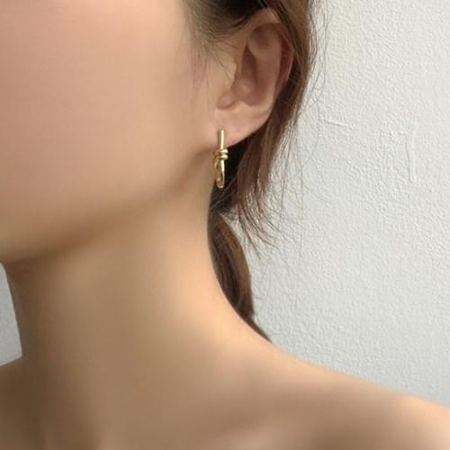 라이꼬임 심플 귀걸이